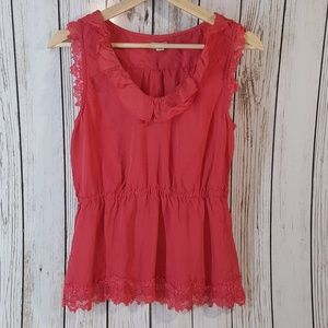 odile anthropologie tank top size 6